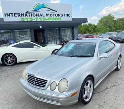2002 Mercedes-Benz CLK for sale at International Motors Inc. in Nashville TN