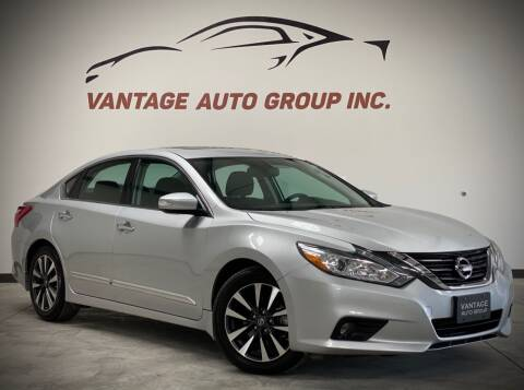 2016 Nissan Altima for sale at Vantage Auto Group Inc in Fresno CA