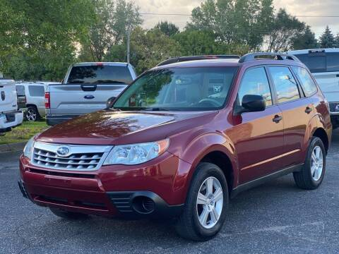 2011 Subaru Forester for sale at North Imports LLC in Burnsville MN