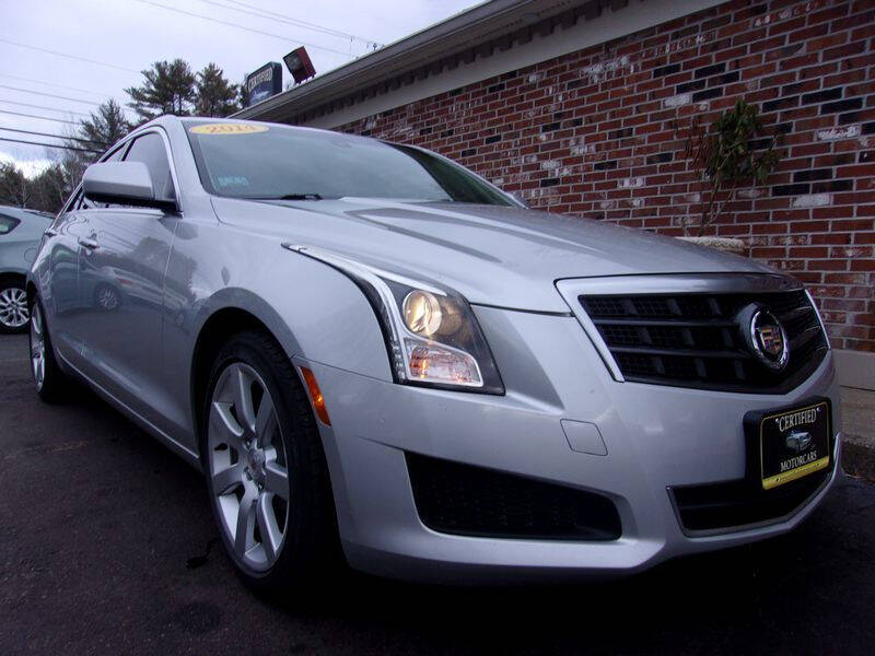 2014 Cadillac ATS for sale at Certified Motorcars LLC in Franklin NH