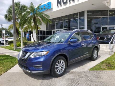 2018 Nissan Rogue for sale at Mazda of North Miami in Miami FL