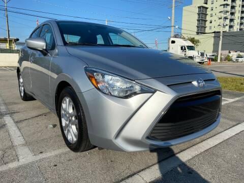 2018 Toyota Yaris iA for sale at MIAMI AUTO LIQUIDATORS in Miami FL