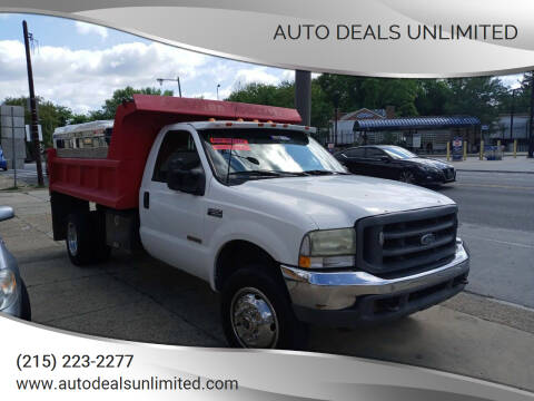 2003 Ford F-550 Super Duty for sale at AUTO DEALS UNLIMITED in Philadelphia PA