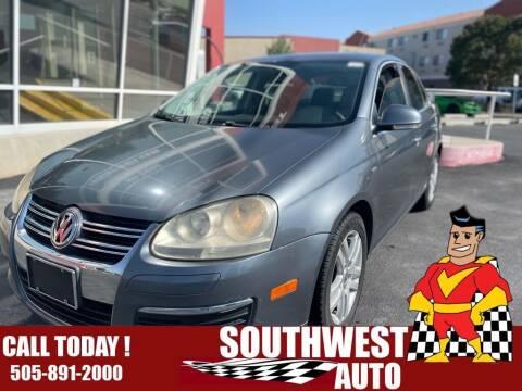 2007 Volkswagen Jetta for sale at SOUTHWEST AUTO in Albuquerque NM