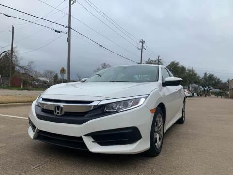 2017 Honda Civic for sale at Makka Auto Sales in Dallas TX