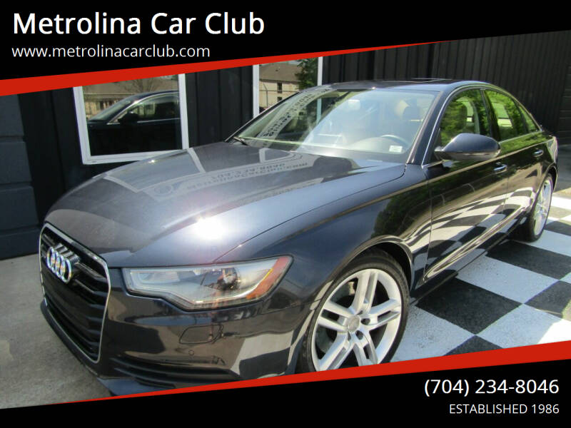 2014 Audi A6 for sale at Metrolina Car Club in Matthews NC