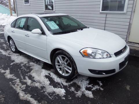 2013 Chevrolet Impala for sale at Fulmer Auto Cycle Sales - Fulmer Auto Sales in Easton PA