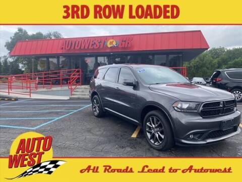 2017 Dodge Durango for sale at Autowest Allegan in Allegan MI