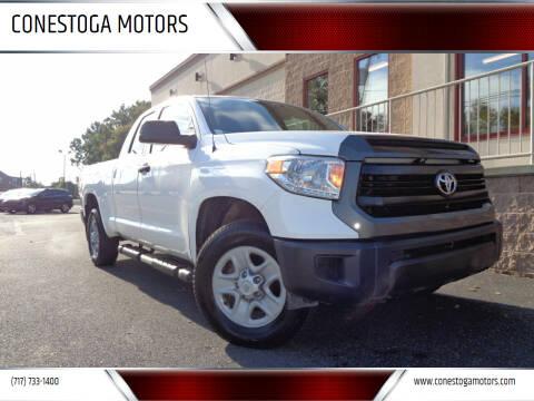 2016 Toyota Tundra for sale at CONESTOGA MOTORS in Ephrata PA