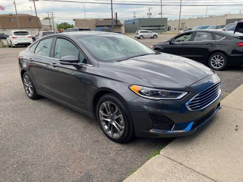 2020 Ford Fusion for sale at M-97 Auto Dealer in Roseville MI