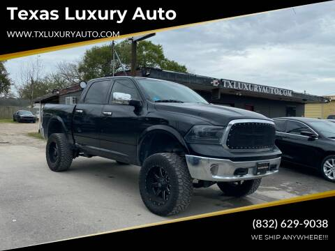2013 RAM Ram Pickup 1500 for sale at Texas Luxury Auto in Houston TX