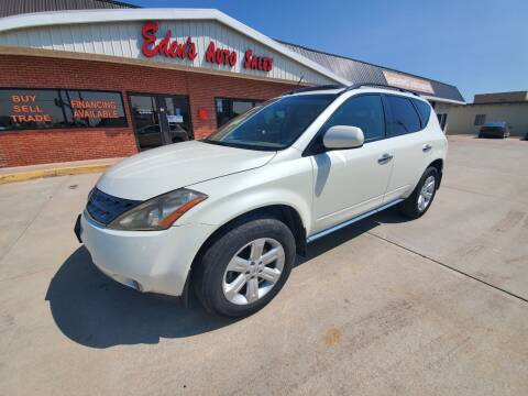 2006 Nissan Murano for sale at Eden's Auto Sales in Valley Center KS