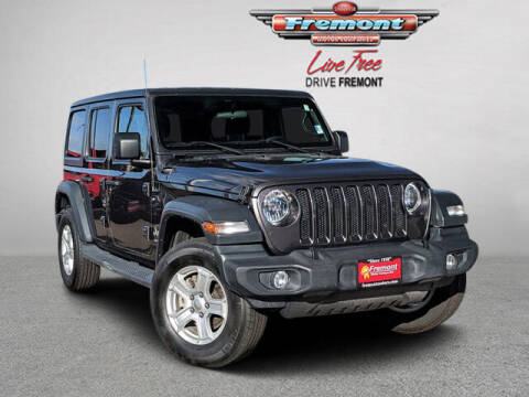 2019 Jeep Wrangler Unlimited for sale at Rocky Mountain Commercial Trucks in Casper WY