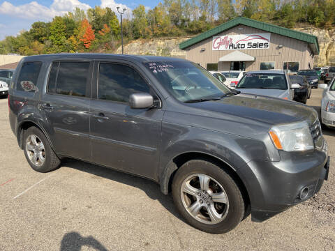 2012 Honda Pilot for sale at Gilly's Auto Sales in Rochester MN