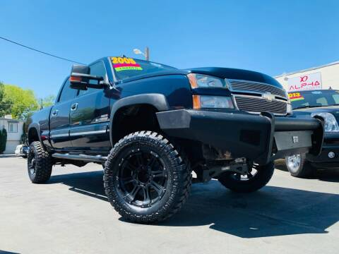 2005 Chevrolet Silverado 2500HD for sale at Alpha AutoSports in Roseville CA