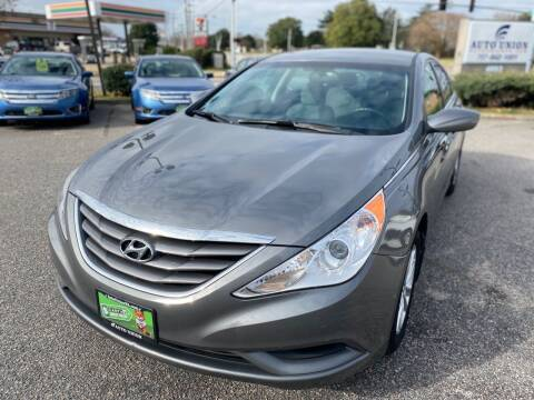 2013 Hyundai Sonata for sale at Auto Union LLC in Virginia Beach VA