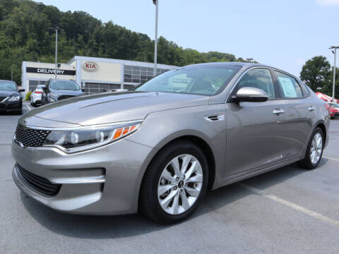 2017 Kia Optima for sale at RUSTY WALLACE KIA OF KNOXVILLE in Knoxville TN