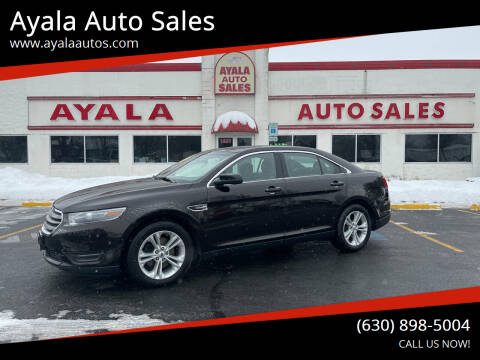 2014 Ford Taurus for sale at Ayala Auto Sales in Aurora IL