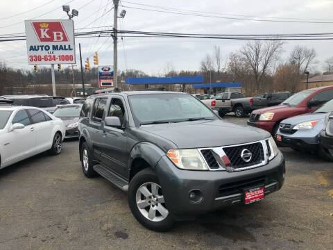 2009 Nissan Pathfinder for sale at KB Auto Mall LLC in Akron OH