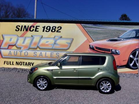 2013 Kia Soul for sale at Pyles Auto Sales in Kittanning PA