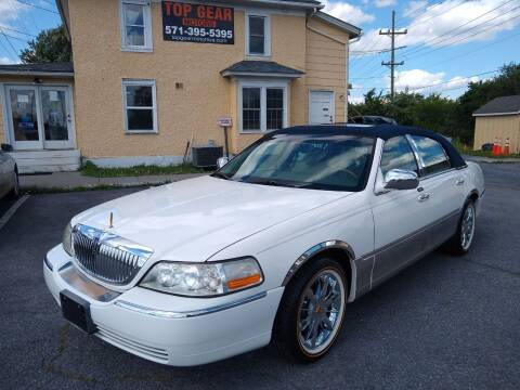 2004 Lincoln Town Car for sale at Top Gear Motors in Winchester VA