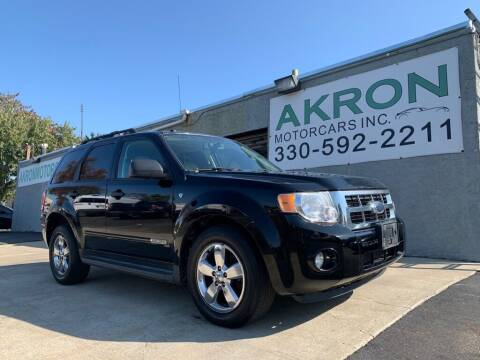 2008 Ford Escape for sale at Akron Motorcars Inc. in Akron OH
