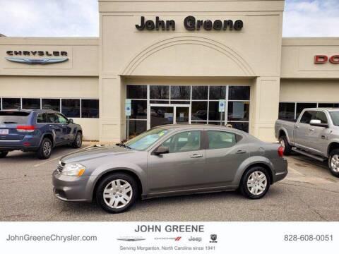 2013 Dodge Avenger for sale at John Greene Chrysler Dodge Jeep Ram in Morganton NC
