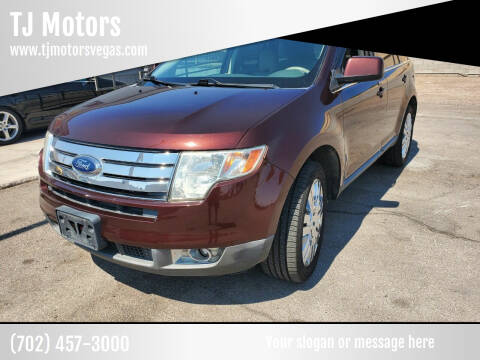 2009 Ford Edge for sale at TJ Motors in Las Vegas NV