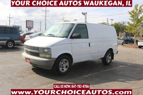 2005 Chevrolet Astro Cargo for sale at Your Choice Autos - Waukegan in Waukegan IL