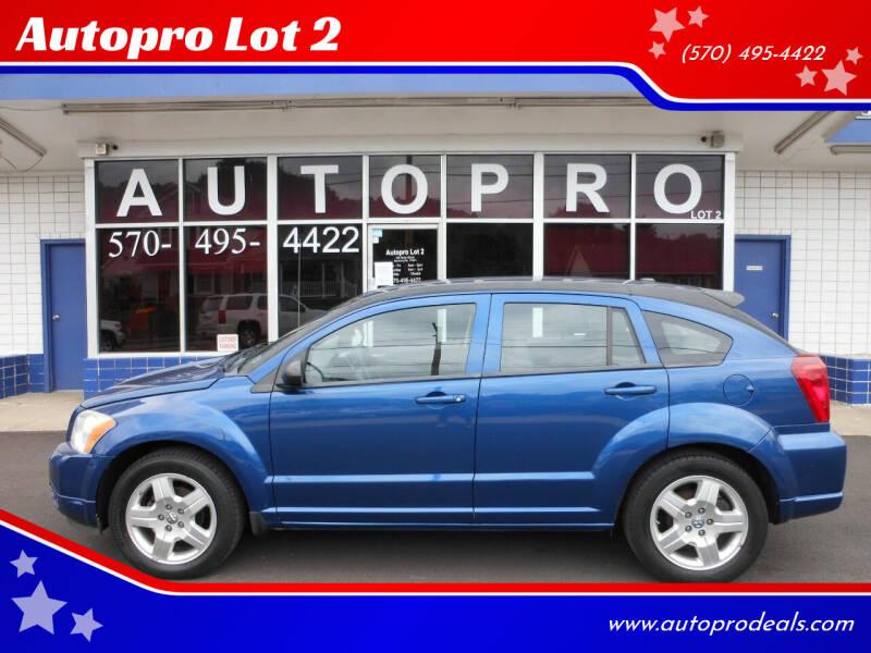 2009 Dodge Caliber for sale at Autopro Lot 2 in Sunbury PA