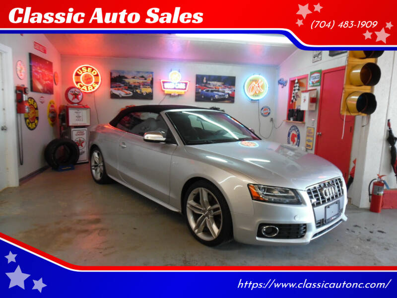 2010 Audi S5 for sale at Classic Auto Sales in Maiden NC