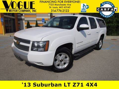 2013 Chevrolet Suburban for sale at Vogue Motor Company Inc in Saint Louis MO