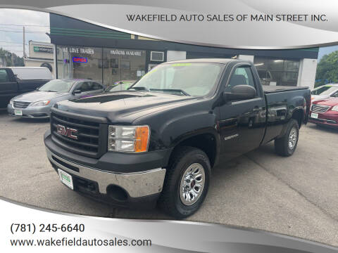 2011 GMC Sierra 1500 for sale at Wakefield Auto Sales of Main Street Inc. in Wakefield MA