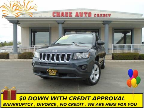 2016 Jeep Compass for sale at Chase Auto Credit in Oklahoma City OK