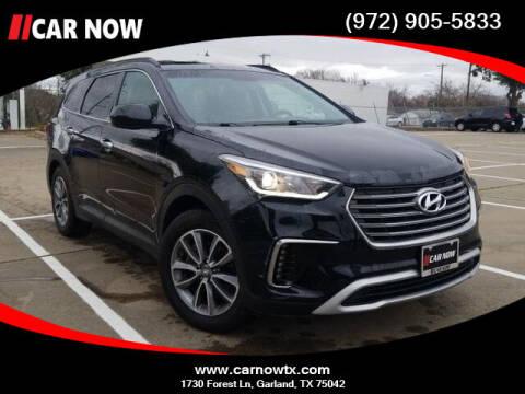 2017 Hyundai Santa Fe for sale at Car Now Dallas in Dallas TX