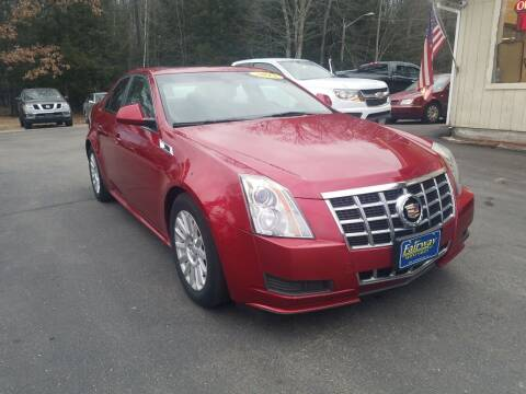 2013 Cadillac CTS for sale at Fairway Auto Sales in Rochester NH