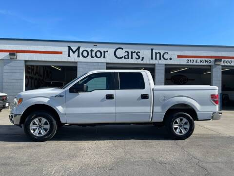 2012 Ford F-150 for sale at MOTOR CARS INC in Tulare CA