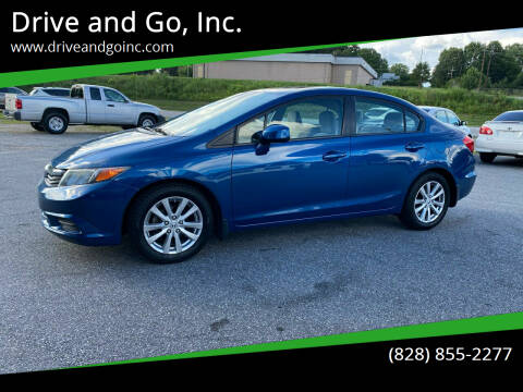 2012 Honda Civic for sale at Drive and Go, Inc. in Hickory NC