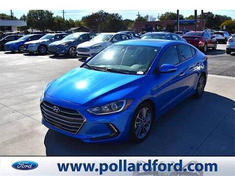 2017 Hyundai Elantra for sale at South Plains Autoplex by RANDY BUCHANAN in Lubbock TX