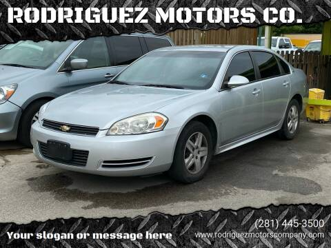 2009 Chevrolet Impala for sale at RODRIGUEZ MOTORS CO. in Houston TX