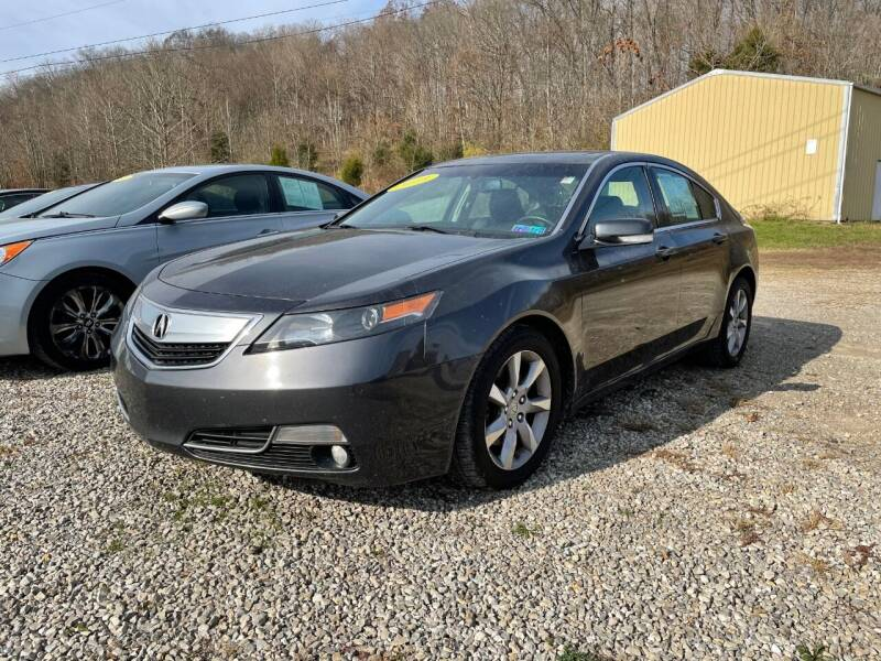 2013 Acura TL for sale at Court House Cars, LLC in Chillicothe OH