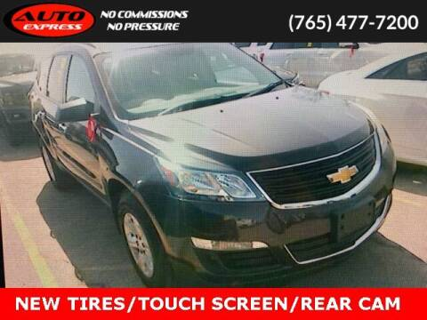 2017 Chevrolet Traverse for sale at Auto Express in Lafayette IN