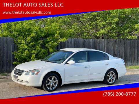 2003 Nissan Altima for sale at THELOT AUTO SALES LLC. in Lawrence KS