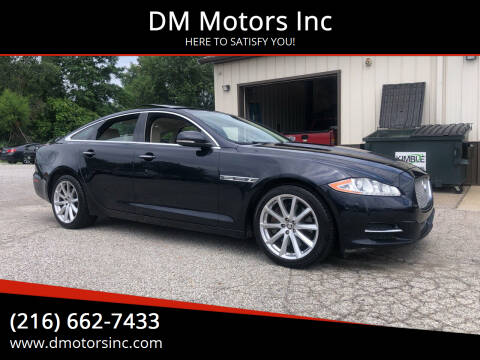 2012 Jaguar XJ for sale at DM Motors Inc in Maple Heights OH