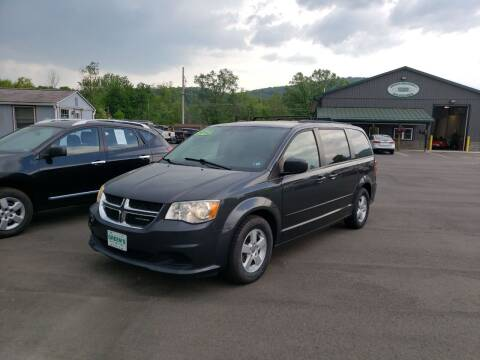 2012 Dodge Grand Caravan for sale at Greens Auto Mart Inc. in Wysox PA