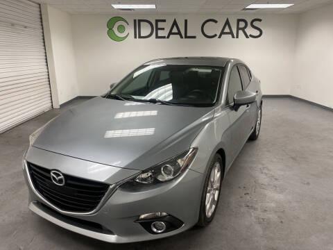 2015 Mazda MAZDA3 for sale at Ideal Cars in Mesa AZ
