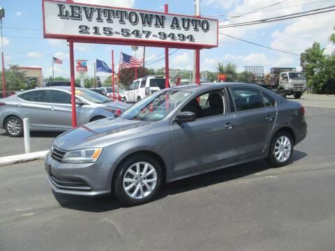 2015 Volkswagen Jetta for sale at Levittown Auto in Levittown PA