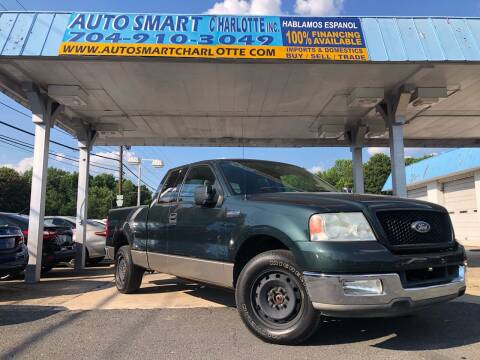 2004 Ford F-150 for sale at Auto Smart Charlotte in Charlotte NC