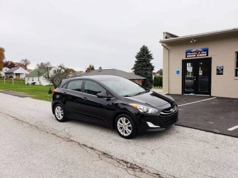 2013 Hyundai Elantra GT for sale at Hackler & Son Used Cars in Red Lion PA