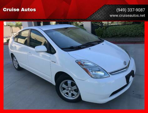 2008 Toyota Prius for sale at Cruise Autos in Corona CA
